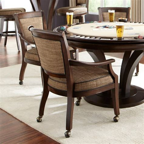 card table chairs with arms home chair decoration