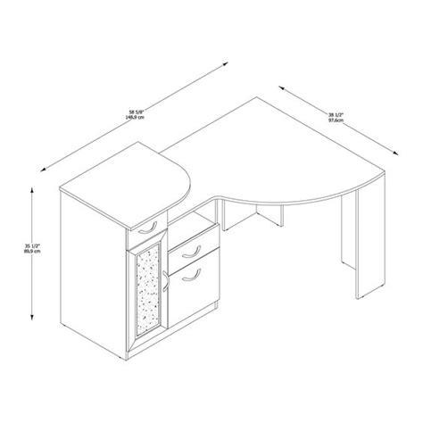 desk dimensions corner desk and desks on