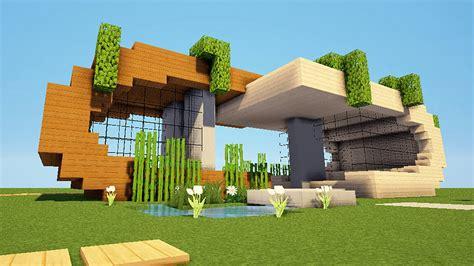 minecraft tuto maison moderne