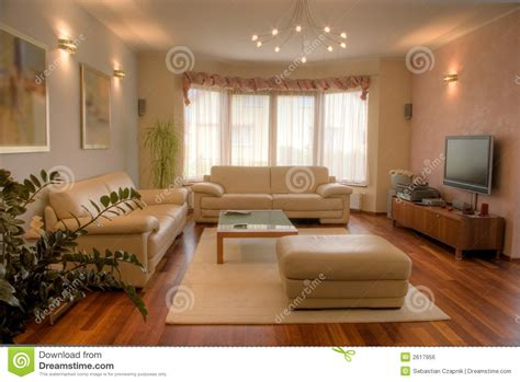 To Home Interior : Modern Home Interior. Stock Photo. Image Of Elegant