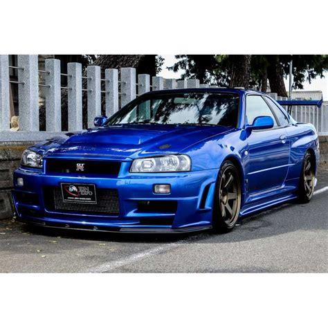 Nissan Skyline Gt-r R34 Bayside Blue For Sale Import Jdm