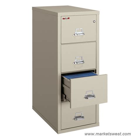 fireking 4 drawer vertical fireproof file cabinet