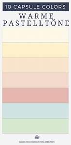 Was Sind Pastellfarben : capsule colors deine 10 besten farben farbberatung und stilberatung in berlin ~ Markanthonyermac.com Haus und Dekorationen