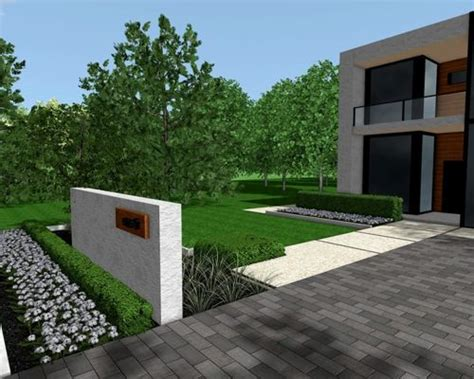 Modern Front Yards Home Design Ideas, Pictures, Remodel
