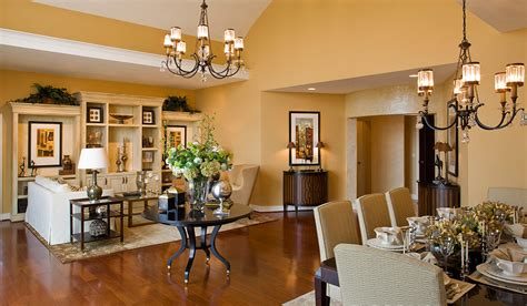 Model Home Interior Design  Hartman Design Group