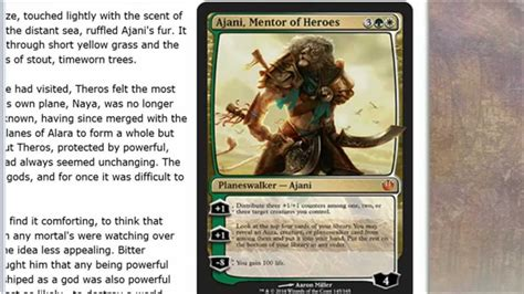 journey into nyx spoilers ajani mentor of heroes