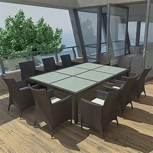 Gartenmöbel Aus Italien : der gartenm bel set aus polyrattan f r 10 personen schwarz online shop ~ Markanthonyermac.com Haus und Dekorationen