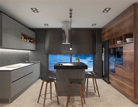 Discover Why This Open Plan Kitchen Has The Best Lighting
