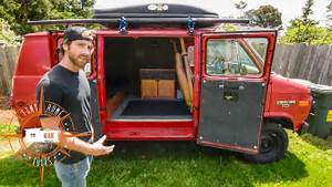 Amazing Simplistic Van Build For $1,500 ~ Van Life On A ...