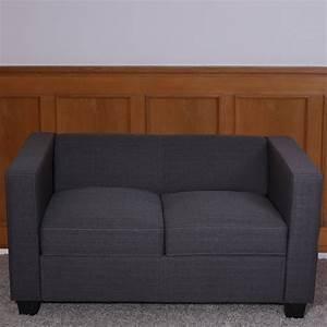 2er Sofa Rot : 2er sofa loungesofa couch lille kunstleder leder mikrofaser textil ebay ~ Markanthonyermac.com Haus und Dekorationen