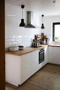 Ikea Arbeitsplatte Eiche : k che parkett weiss ~ Markanthonyermac.com Haus und Dekorationen