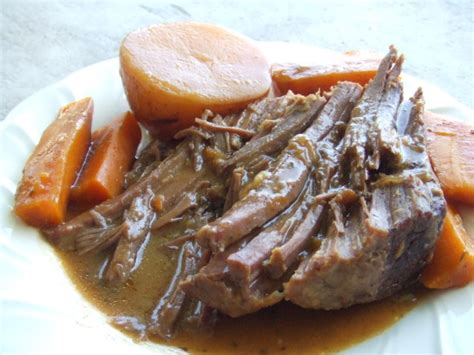deliciously easy crock pot pot roast recipe food