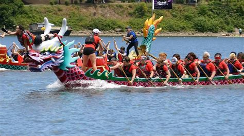 Dragon Boat Video dragon boat races slow motion video youtube