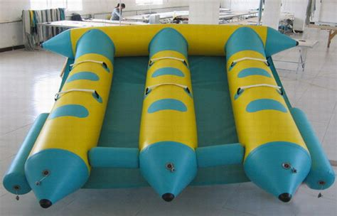 Blow Up Banana Boat by Customed 6 Seaters Inflatable Banana Boat Fly Fish For