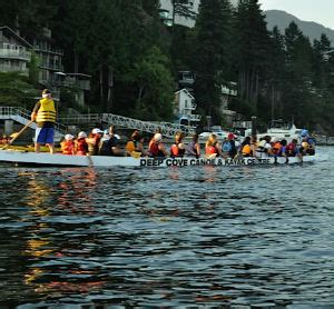 Dragon Boat Hire by Dragon Boating In Deep Cove Deep Cove Kayak