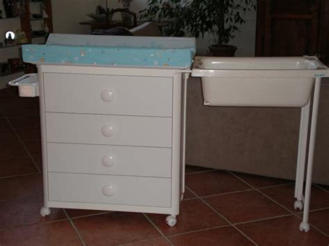table a langer commode baignoire chaios