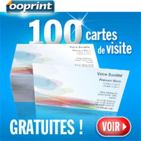 100 cartes de visite gratuites