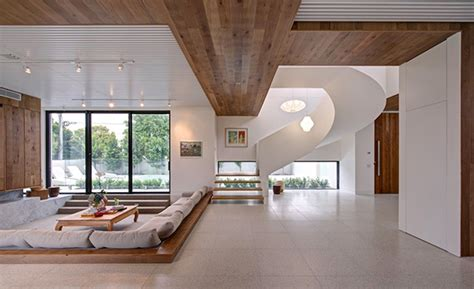 modern and warm mansion interior inspiring serenity in australia freshome