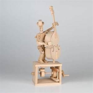 Timberkits Double Bass DIY Wooden Mechanical Self Assembly ...