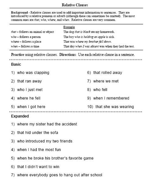 Compound And Complex Sentences  Free Language Stuff