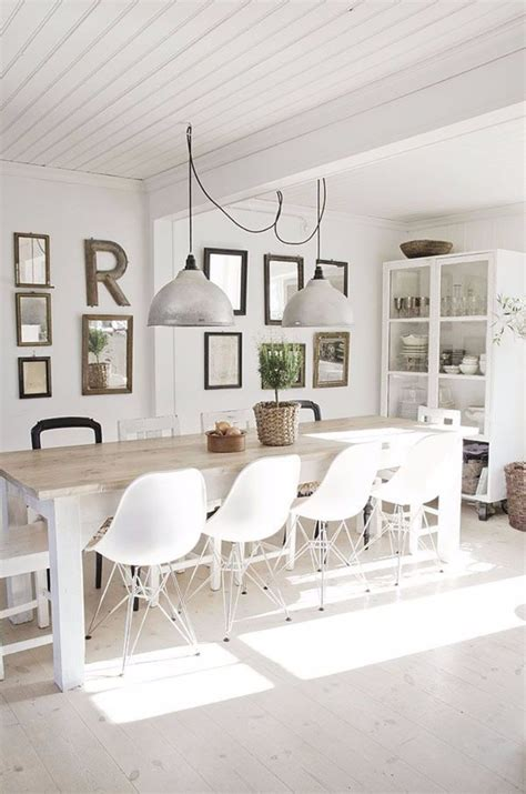 10 Contemporary White Dining Rooms