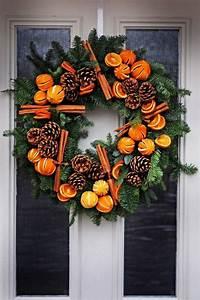 Weihnachtskranz Für Tür : adventsdeko selber machen 18 sch ne ideen f r drau en ~ Markanthonyermac.com Haus und Dekorationen