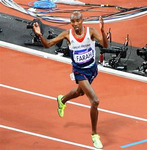 Great Britain runner Mo Farah wins 10,000 meter gold ...