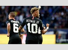 Neymar Jr Bags a Hattrick to Equal Kaka's Record for Most