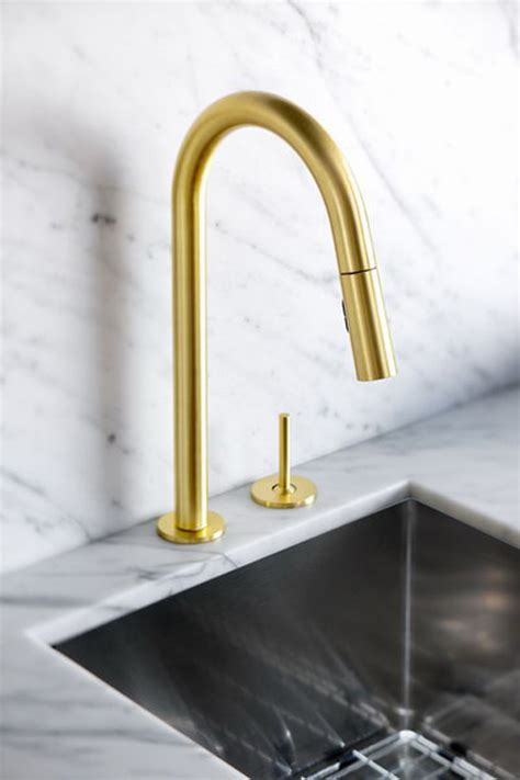 gold is chic and modern brass fixtures to upgrate your