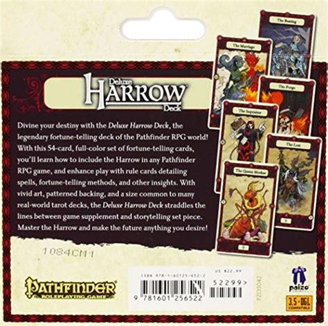 pathfinder caign cards deluxe harrow deck the meaning