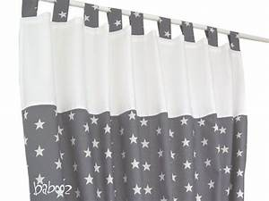 Gardinen Kinderzimmer Sterne : gardinen stern grau von babooz auf kinderzimmer in 2018 pinterest gardinen ~ Markanthonyermac.com Haus und Dekorationen