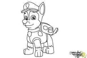 pat patrouille coloriages