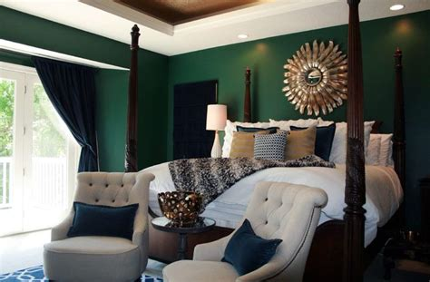 Best + Emerald Green Bedrooms Ideas On Pinterest