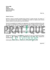 lettre de motivation pour un emploi de secr 233 taire comptable confirm 233 e pratique fr