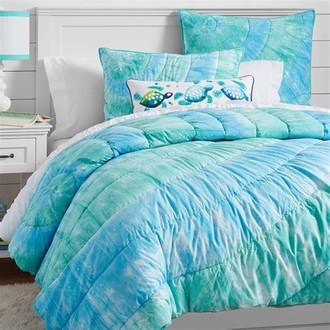 dunes tie dye quilt sham cool from pbteen bedding