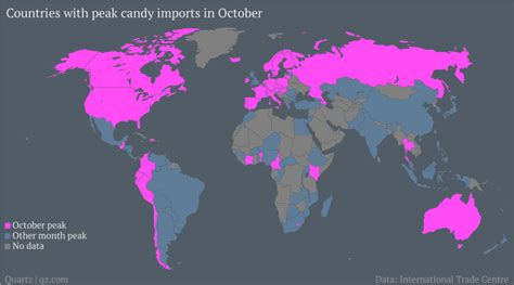 Which Countries Celebrate Halloween The Most by Thanks To Halloween October Is The Biggest Month For Big