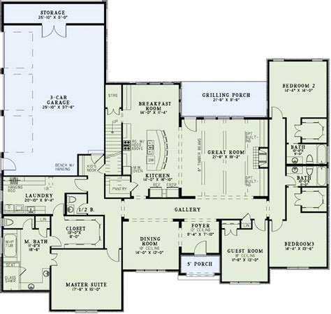 photos and inspiration storey house floor plans traditional style house plans 3415 square foot home 1