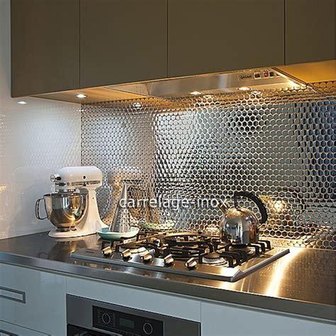 cr 233 dence cuisine inox miroir mosaique salle de bain round25 miroir carrelage inox fr