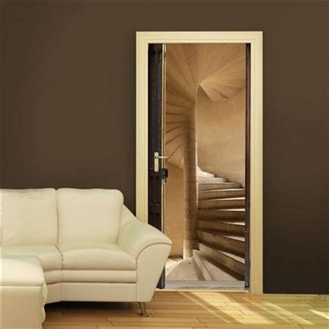 staircase door sticker staircases doors and walls