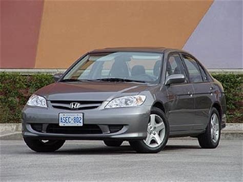 Test Drive: 2004 Honda Civic Si Sedan