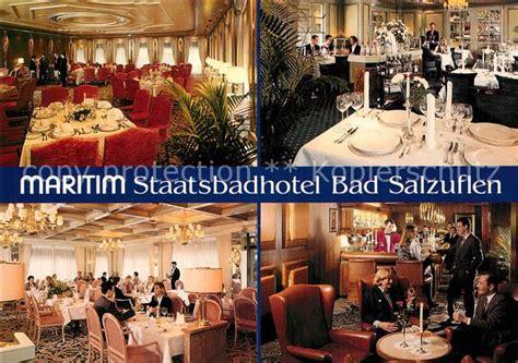 Bad Salzuflen Maritim Staatsbadhotel Restaurant Hallenbad