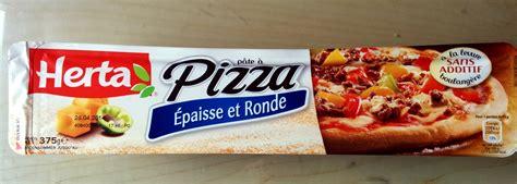 p 226 te 224 pizza epaisse et ronde herta 375 g