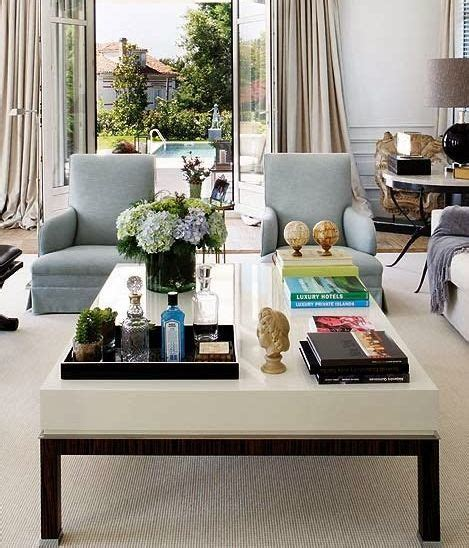 20 Best Coffee Table Styling Ideas  How To Decorate A