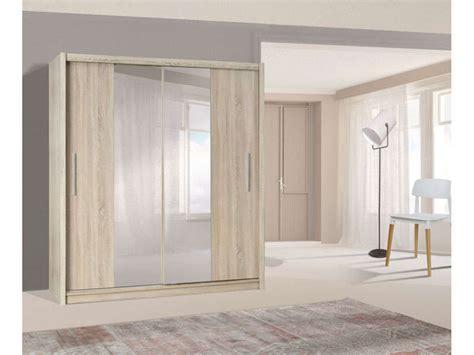 promo armoire conforama achat armoire 2 portes coulissantes pretty coloris ch 234 ne sonoma prix