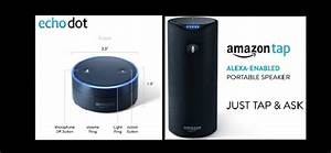 Amazon Launches Alexa-Enabled Devices Echo Dot & Tap