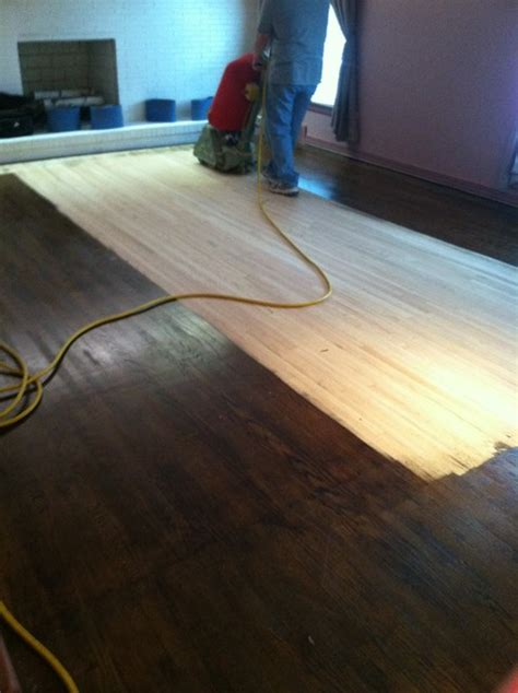 restaining wood floors without sanding image mag