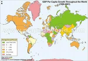 World Economy Maps - World Countries Economic Ranking