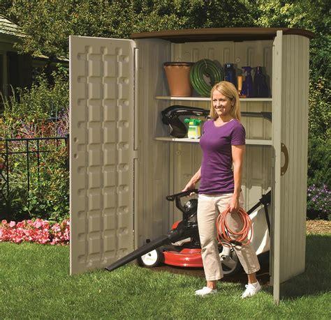 187 suncast bms 4500 armario jardin vertical de resina textura madera