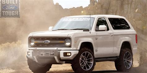 2019 Ford Bronco Rendered Get A Load Of This