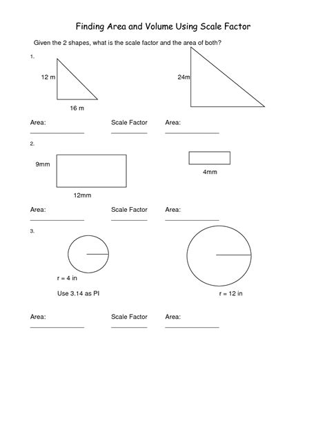 12 Best Images Of Scale Drawing Worksheets  Models And Scale Drawings Worksheets, Scale Factor